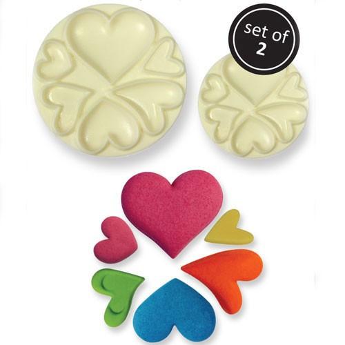 JEM Utstickare 2D Easy pops, Hjärtan