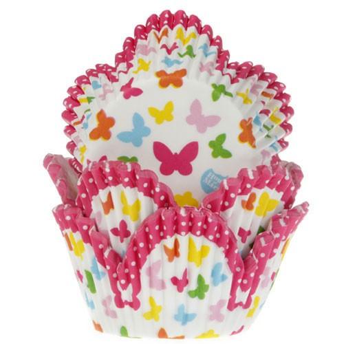House of Marie Muffinsform Tulip Fjärilar
