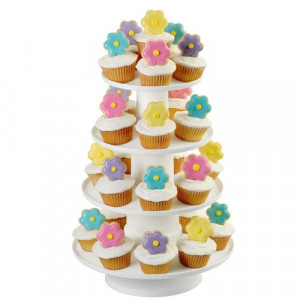 Wilton 4-Tier Stacked Dessert Tower