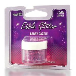 Rainbow Dust Ätbart glitter, Berry Dazzle