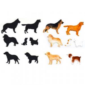 Patchwork Cutters Utstickare Hundar, Dog Silhouette Set