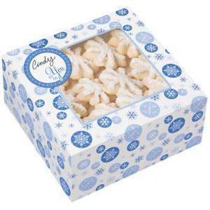 Wilton Presentaskar Snowflake Blue