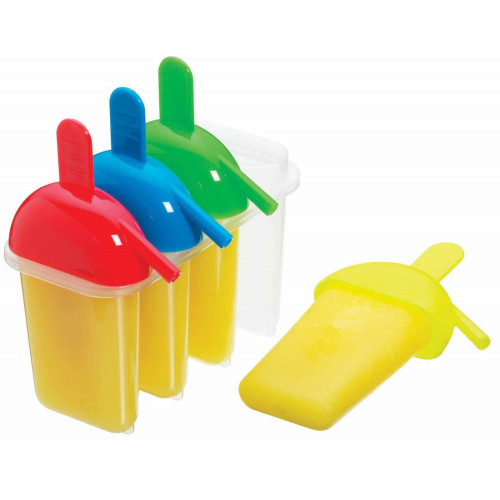 Kitchen Craft Glassformar Lolly Makers, 4 st