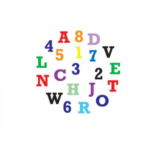 Fmm Utstickare Bokstäver och Siffror, stora