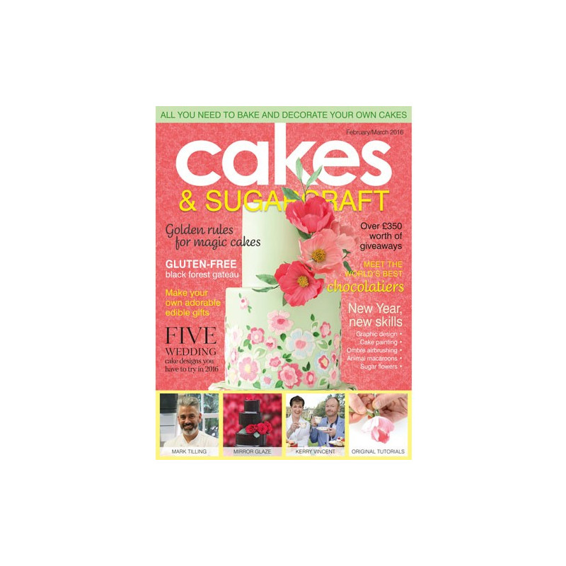 Squire Kitchen Cakes & Sugarcraft nr 132, Feb-Mar 2016