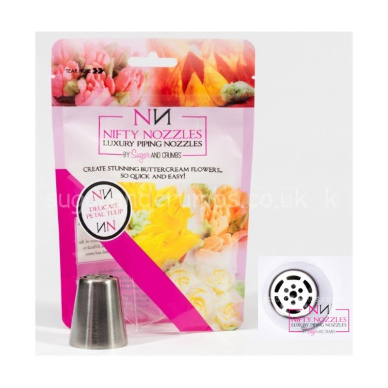 Nifty Nozzles Tyll Delicate Petal Tulip