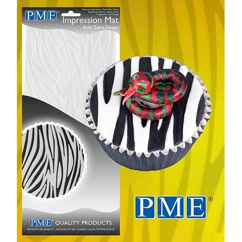 PME Mönstermatta, Bold Zebra