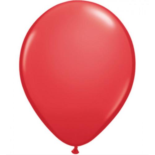 Qualatex Ballonger Röd, 6 st