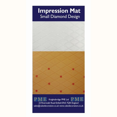 PME Impression Mat Small Diamond Design