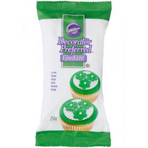 Wilton Sockerpasta Grön, 250 g