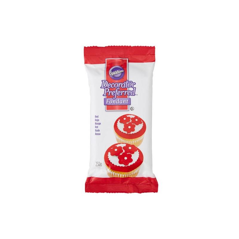 Wilton Sockerpasta Röd, 250 g