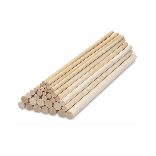 PME Tårtpelare till våningstårtor, trä