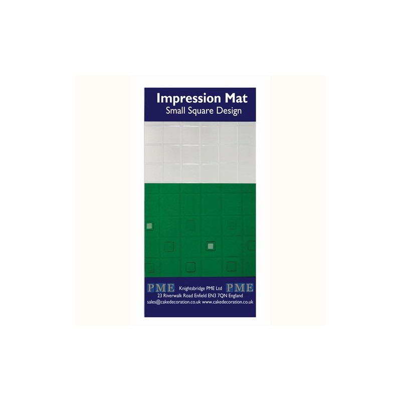 Impression Mat Small Square Design - PME