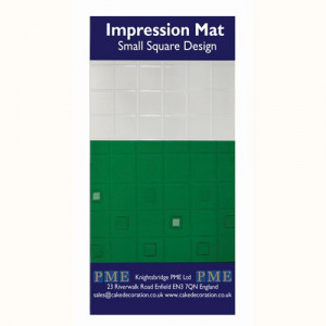 PME Impression Mat, Small Square Design