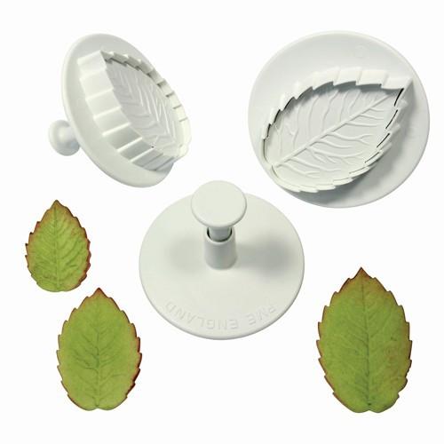 utstickare-veined-rose-leaf-large-set-pme