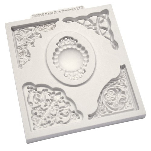 Katy Sue Designs Silikonform Decorative Corner