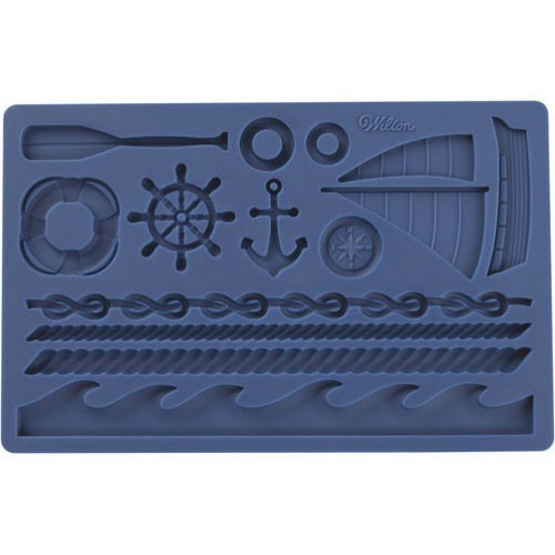 Wilton Silikonform Nautical