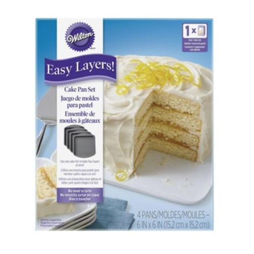 Wilton Bakform Fyrkantig, Easy Layers