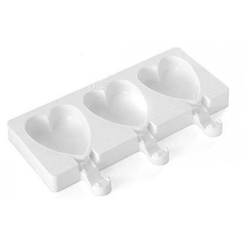 Silikomart Silikonform Easy Cream Mini, Glass Hjärta