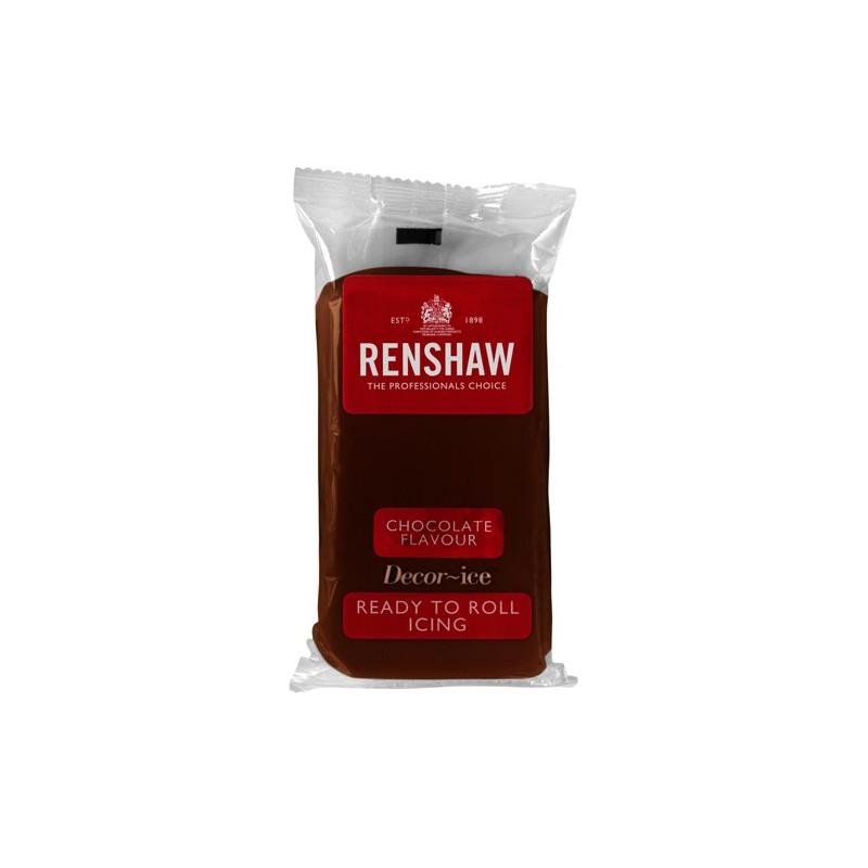 Renshaw Sockerpasta Brun Chokladsmak, 500 g
