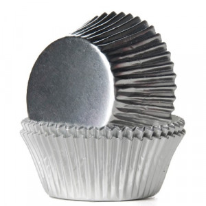 House of Marie Muffinsform Silver Foil