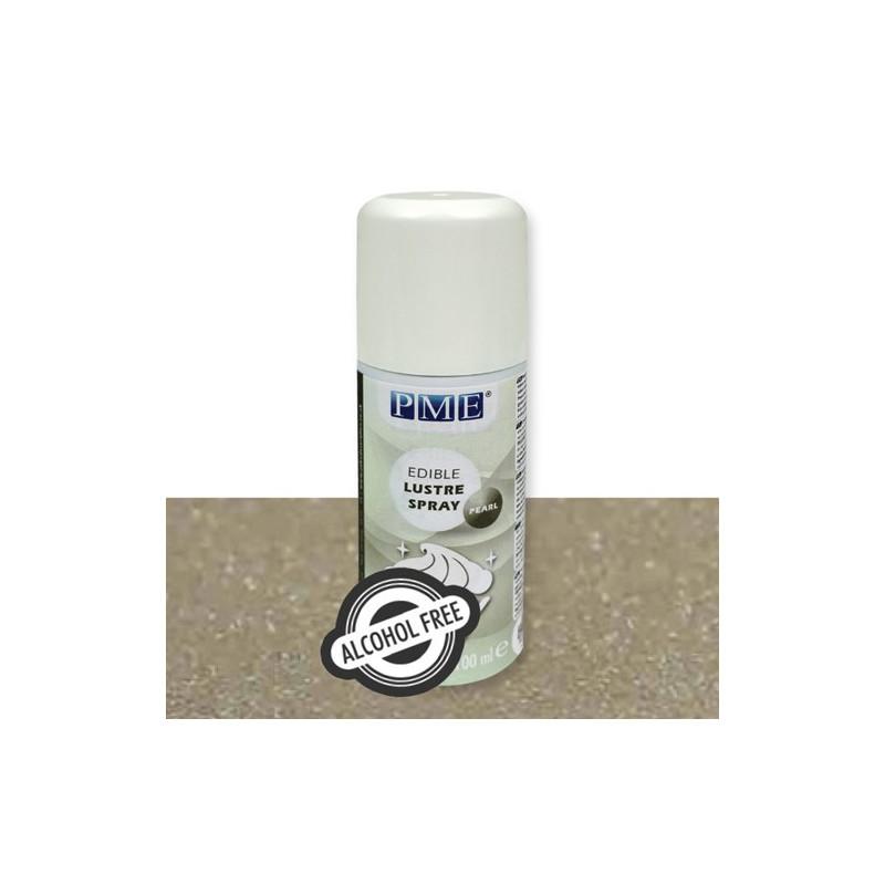 PME Lustre Spray Alkoholfri, Pearl