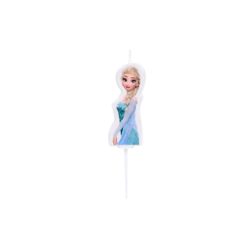 Modecor Disney Tårtljus Frozen, Elsa