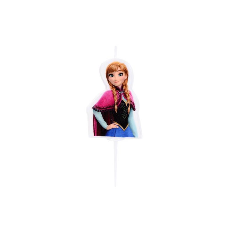 Modecor Disney Tårtljus Frozen, Anna
