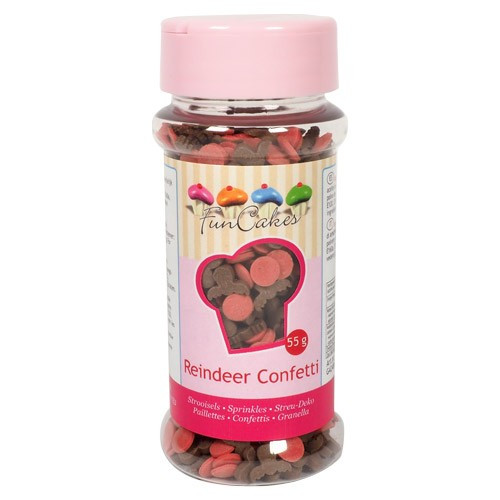 FunCakes Strössel Reindeer Confetti
