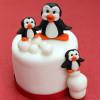 Katy Sue Designs Silikonform Pingvin