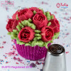 Nifty Nozzles Tyll Romance Rose