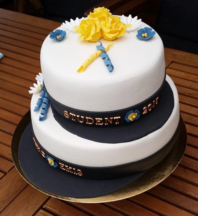 Erics student tårta 2016