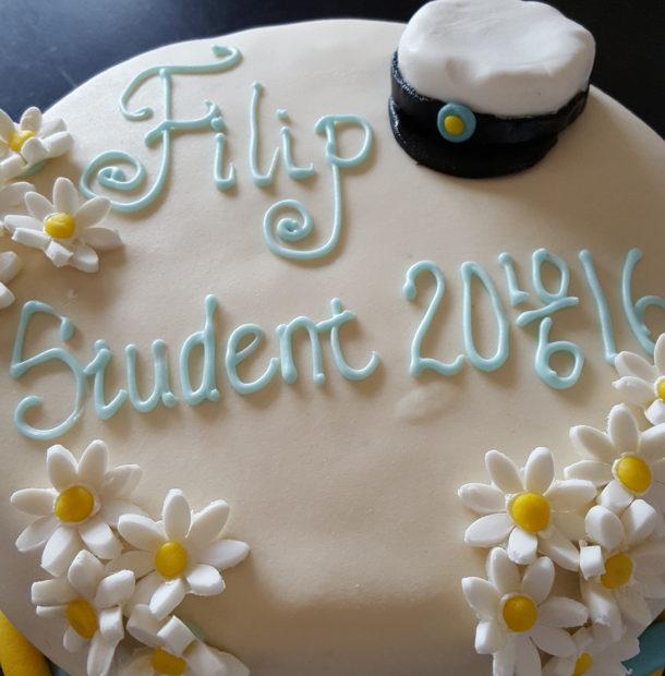 göra egen studenttårta