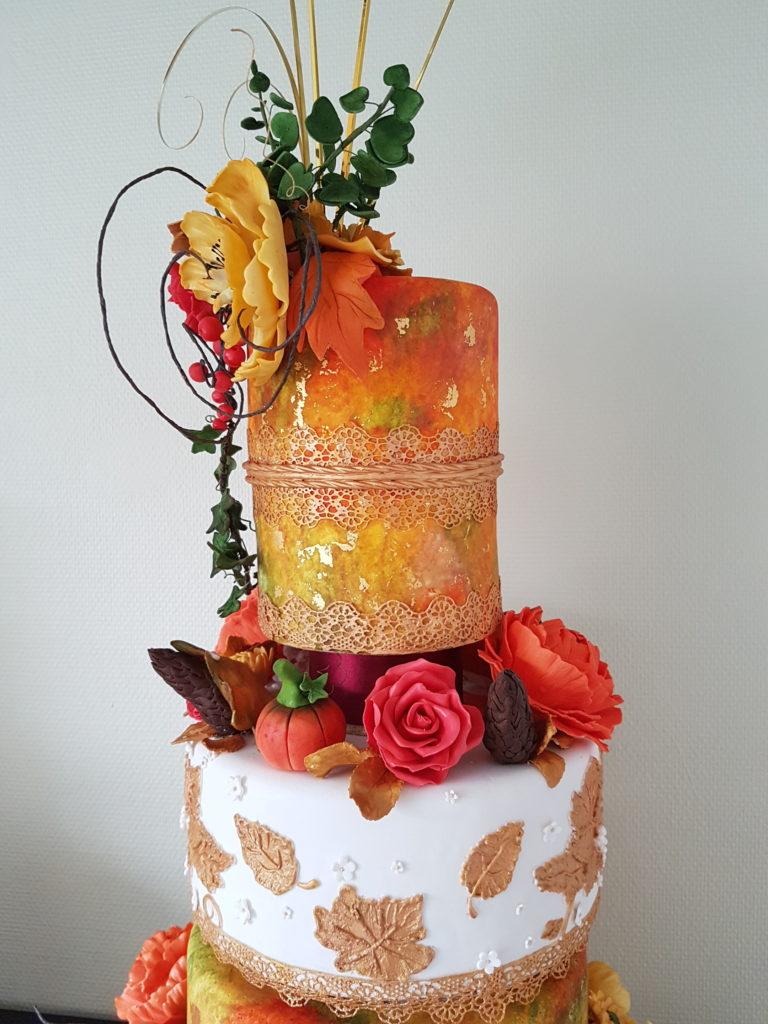 Bröllopstårtan Höstbröllop