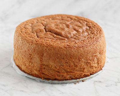 Färdig tårtbotten med 3-lika receptet.