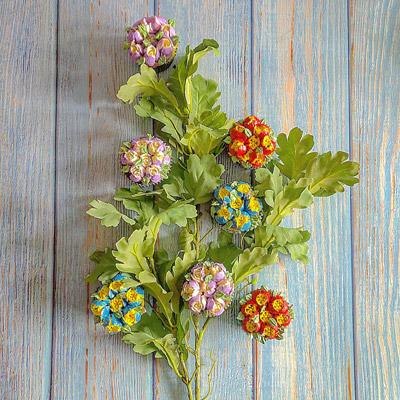 Vackra cupcakes spritsade med ryska tyllar.
