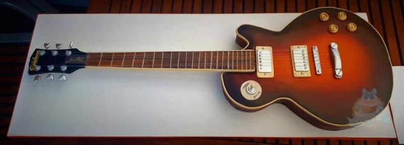 3D Gitarrtårta