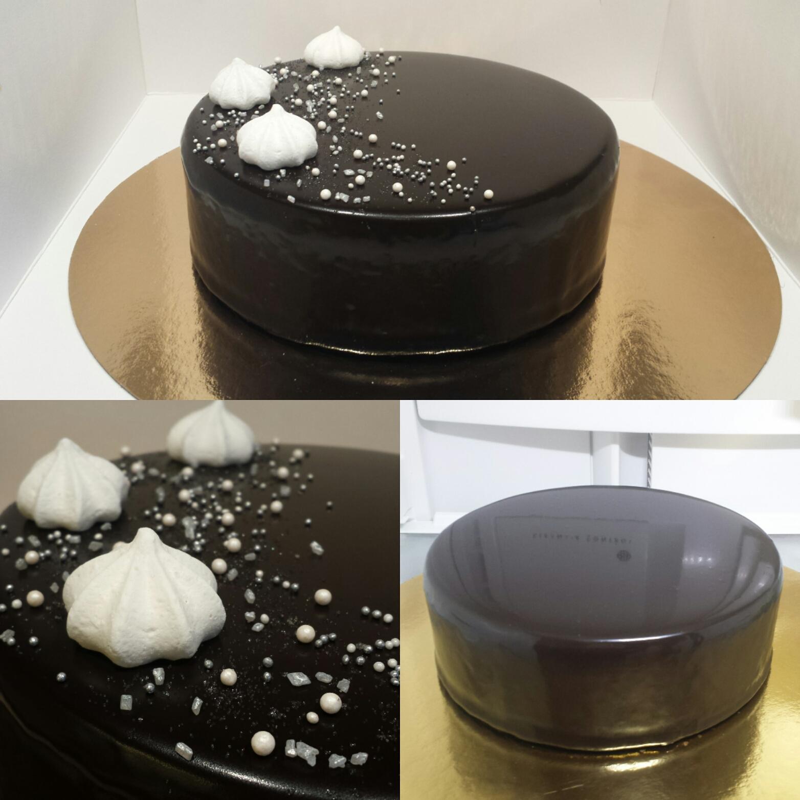tårta glasyr recept