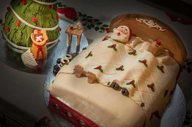 Jultårta inskickad av Eva-Lena Johansson