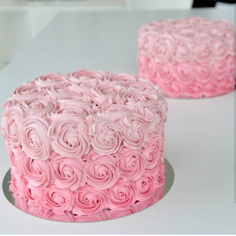 dekorera tårta med smörkräm