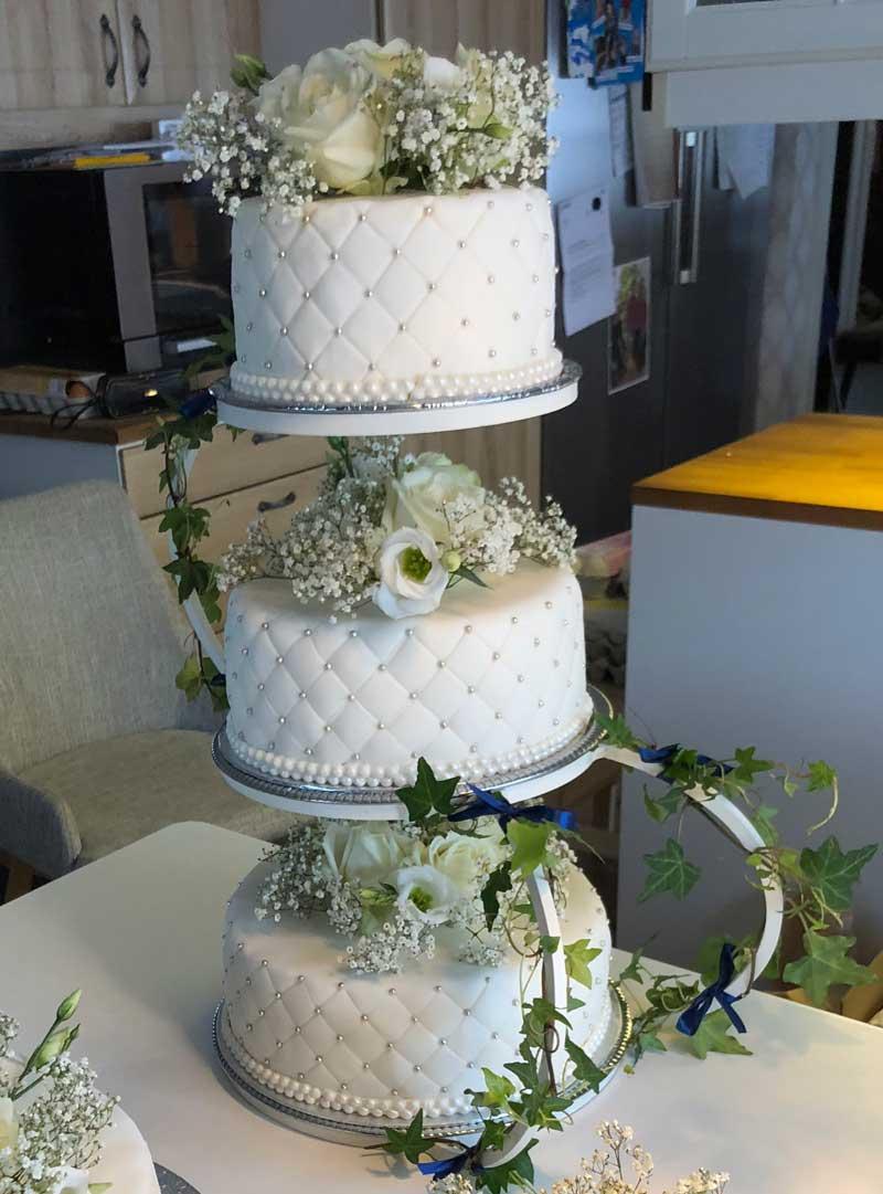 fyllning till bröllopstårta