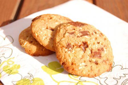 Chip Cookies med kokos