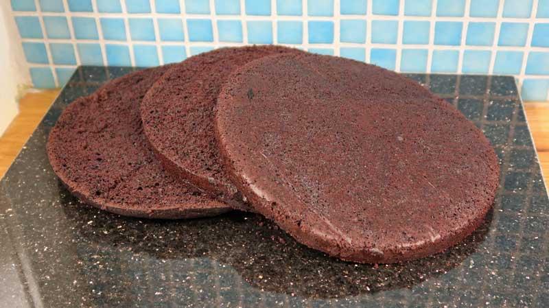 Tårtbotten med choklad, chokladtårtbotten