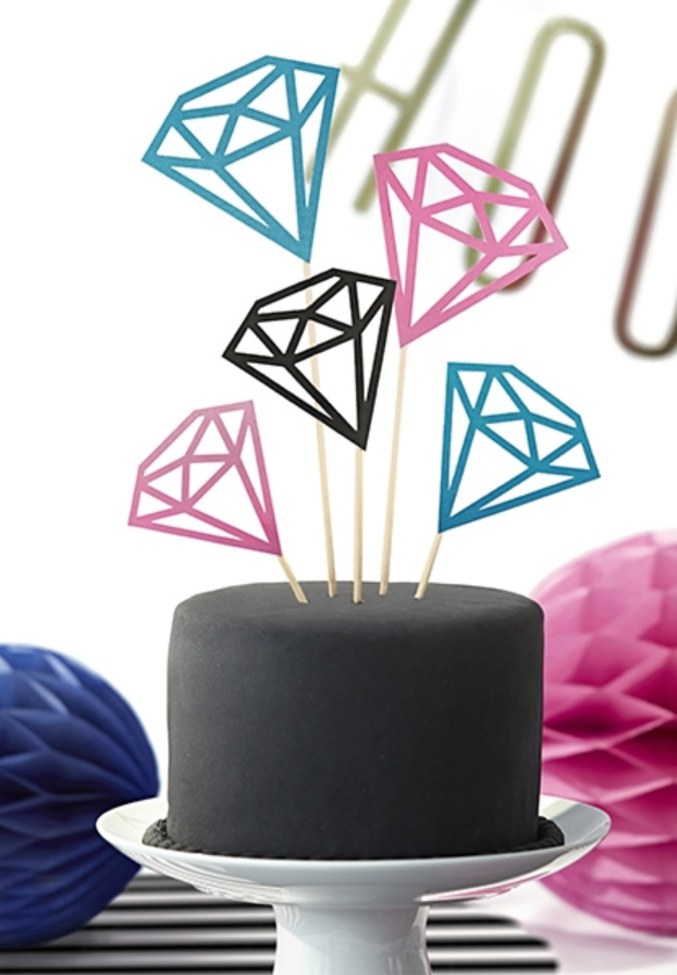 Cake toppers till tårta