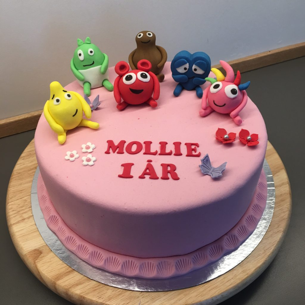 Babblarna tårta steg för steg