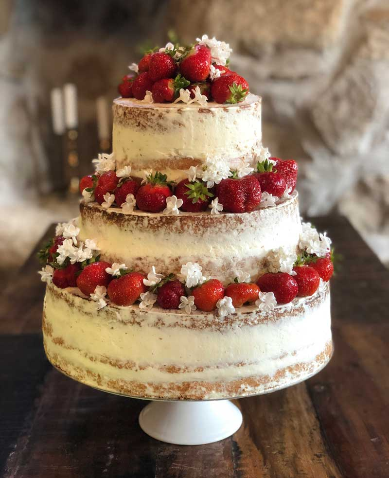 Naked cake av Louise Ljunghäger Turtoft