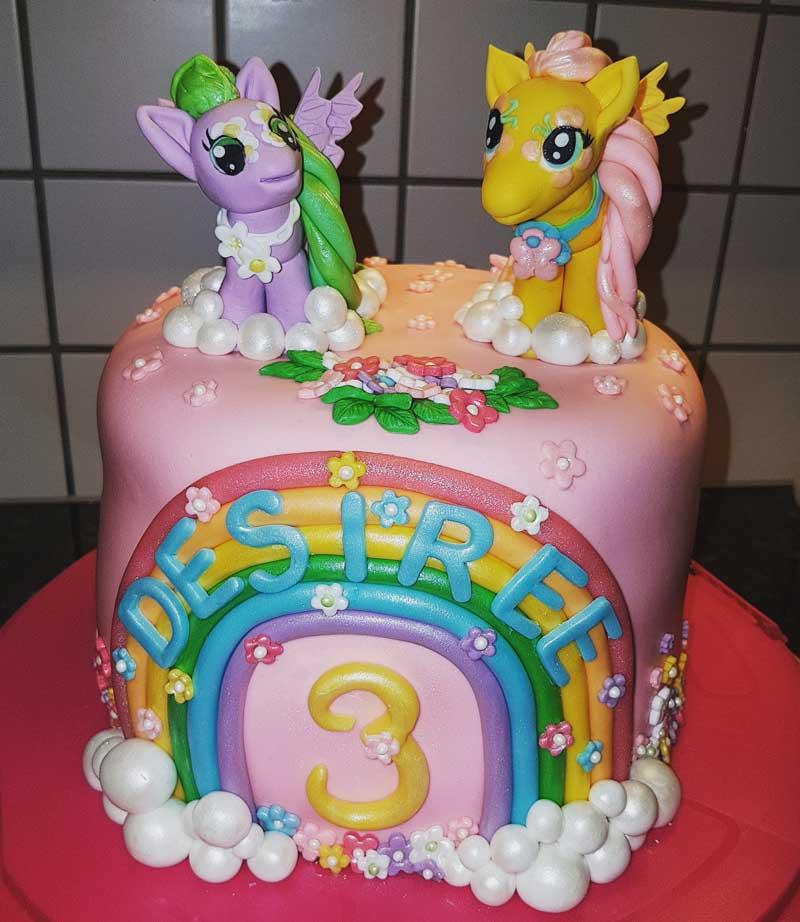 my little pony tårta