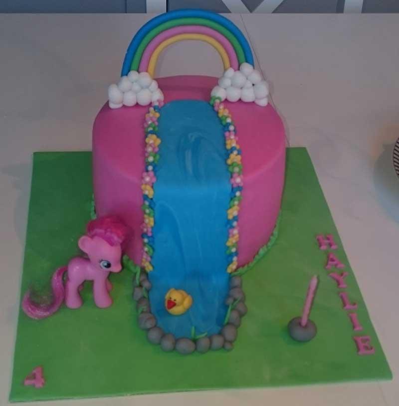 Mt little pony tårta