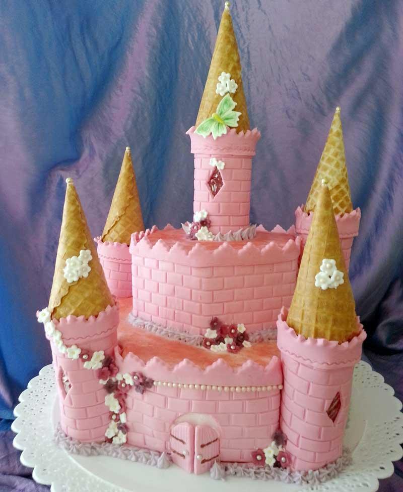 elsa tårta steg för steg