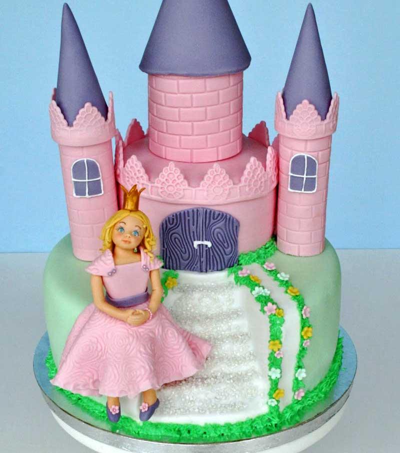 Rolig slottårta